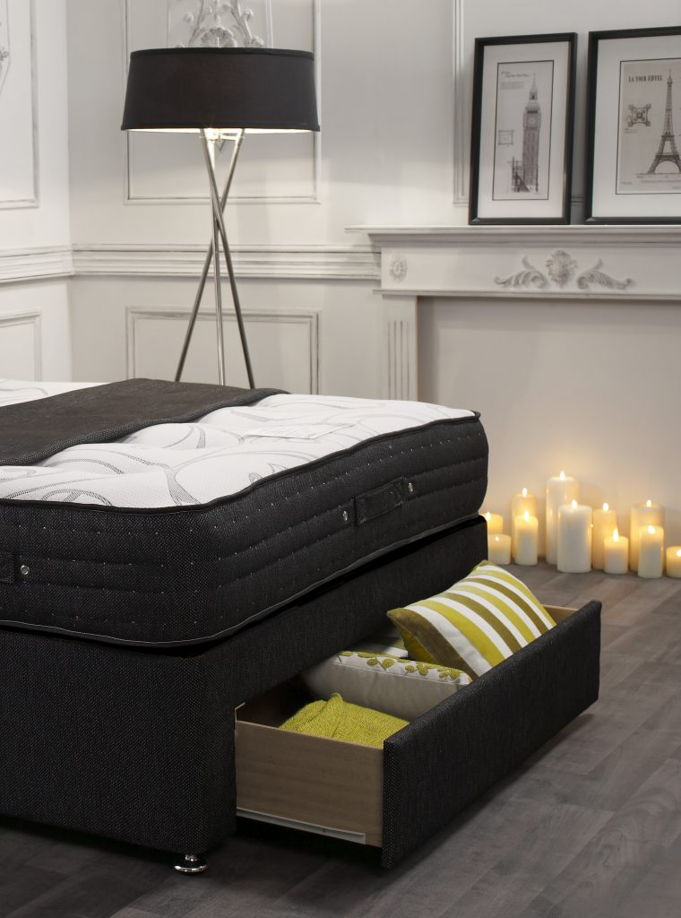 Mayfair 1500 pocket spring divan bed bf beds leeds for Divan bed offers