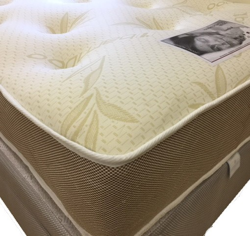 Bamboo 1000 Pocket Spring Mattress Bf Beds Leeds