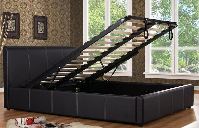 Ottoman Gas Lift Storage Bed Bf Beds Cheap Beds Leeds