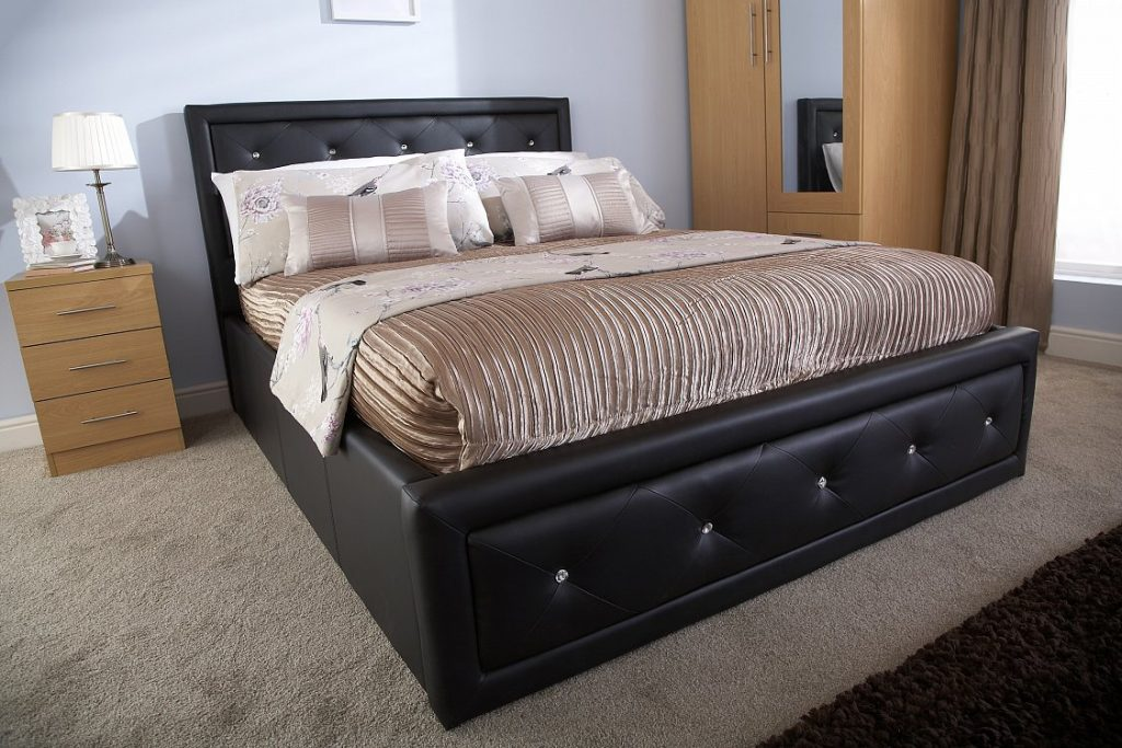 Hollywood Ottoman Bed Bf Beds Cheap Beds Leeds