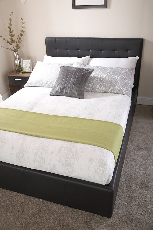Naples Upholstered Bedstead - BF Beds - Cheap beds - Leeds.