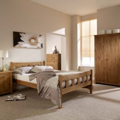 Havana Wooden Bed 4ft 6 Double
