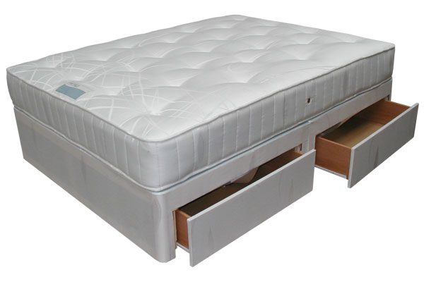 Clifton divan set bf beds cheap beds armley leeds for Cheap single divan with drawers