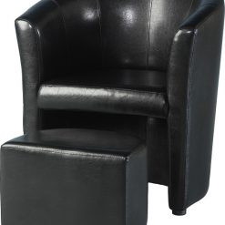 Seconique Tempo Tub Chair With Footstool