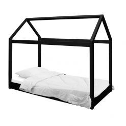 Hickory House Bed in Black